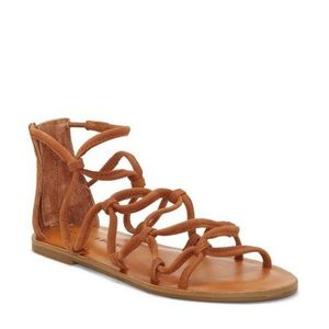 Brand New in Box Lucky Brand Brown Sandals Sz 5.5